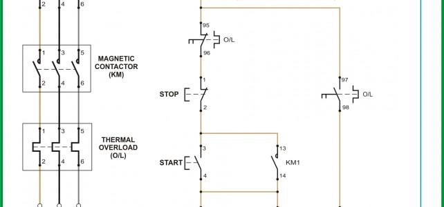 Wiring Diagram Kontrol Motor : Teknik Membaca